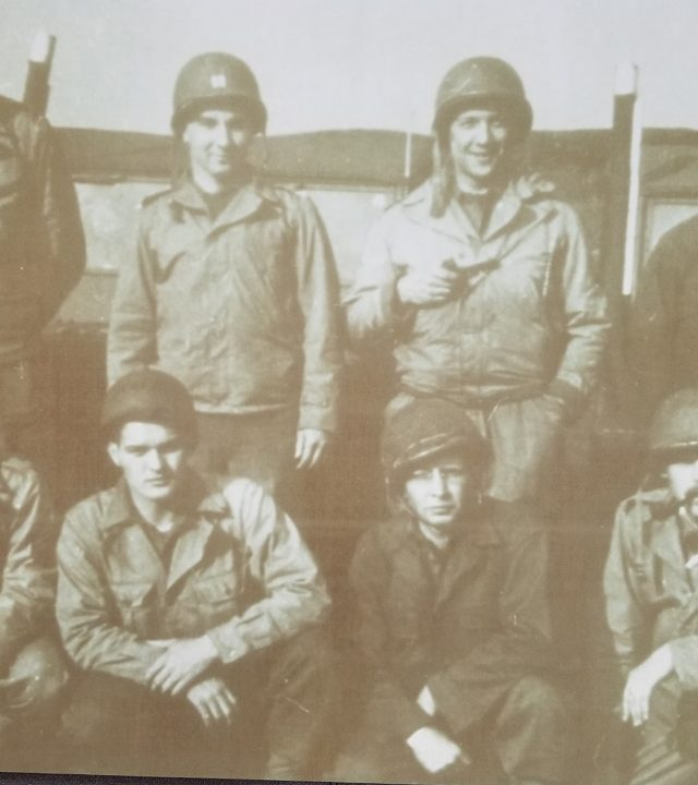 The 8 WWII Stars and Stripes reporters who were tasked to go in on D-Day.